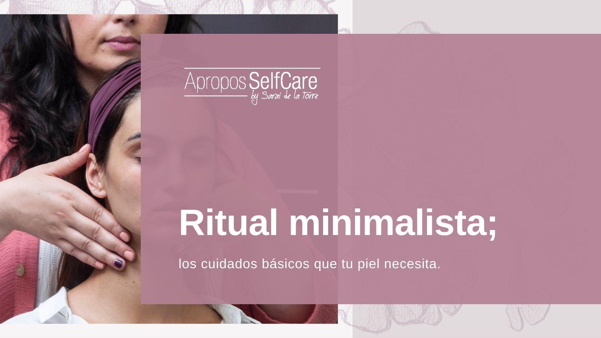 Ritual minimalista